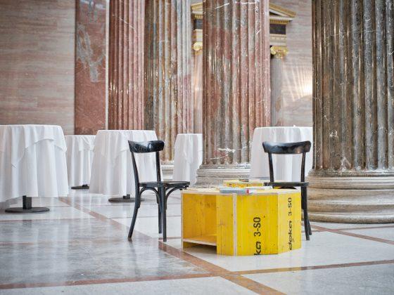 Café Diamant im Österreichischen Parlament